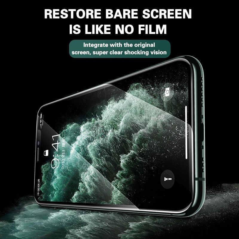 3 шт. Защитное стекло для iPhone 11 Защита экрана для iphone 11 Pro X XR XS Max 6 7 8 plus полное покрытие стекло для iphone 11