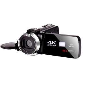 KOMERY Digital-Camcorder 4k Video Webcam-Streaming WIFI Night-Vision Handycam for Youbute