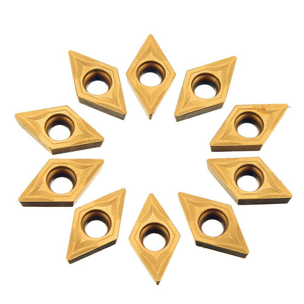 <font><b>10</b></font> Pcs <font><b>DCMT070204</b></font> VP15TF Internal Turning Tools Carbide Inserts Cutting Tool CNC Lathe Tools Cutter Carbide Inserts High Quality image