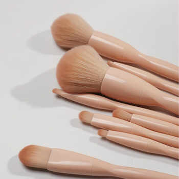 Professional Make Up Brushes High Quality 8pcs Makeup Brush Foundation Powder Blush Highlighter Eyeshadow Cosmetics Brushes Set
