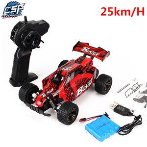 Image 2 - Rc車2.4グラム4CHロック車オフロードトラックのおもちゃ子供のための高速クライミングミニrc rcドリフト駆動車