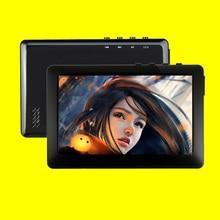 HQ 8GB MP3 MP4 MP5 플레이어 4.3 인치 TFT 터치 스크린 FM 라디오 음악 플레이어 이어폰 포함 스피커 ebook 읽기 #5