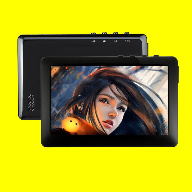 HQ 8GB MP3 MP4 MP5 Player 4.3 inch TFT Touch Screen FM Radio Music player Including Earphone with Speaker ebook reading #5