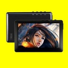 HQ 8GB odtwarzacz MP3 MP4 MP5 4.3 calowy ekran dotykowy TFT FM radioodtwarzacz muzyczny w tym słuchawki z głośnikiem czytanie ebook #5