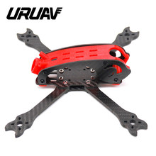 Uruav UR23 Cloudroll 220 Mm Hybride-X Freestyle Carbon Fiber Frame Kit Voor Fpv Racing Rc Drone Rc Quadcopter multicopter Onderdelen(China)