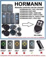 Substituição HORMANN HS1 HS2 HS4 868 Universal Controle Remoto 868MHz Duplicador  ele NÃO É COMPATÍVEL com a norma BS (BiSecure) versão|Alarme de assaltante| |  -