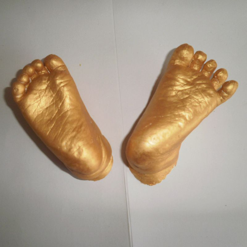 3D Plaster Handprint Footprint Baby Mould Hand&Foot Casting Prints Kit Cast Gift P31B