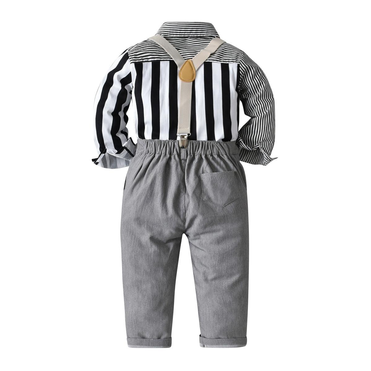 conjuntos de roupas cavalheiro para bebe 01