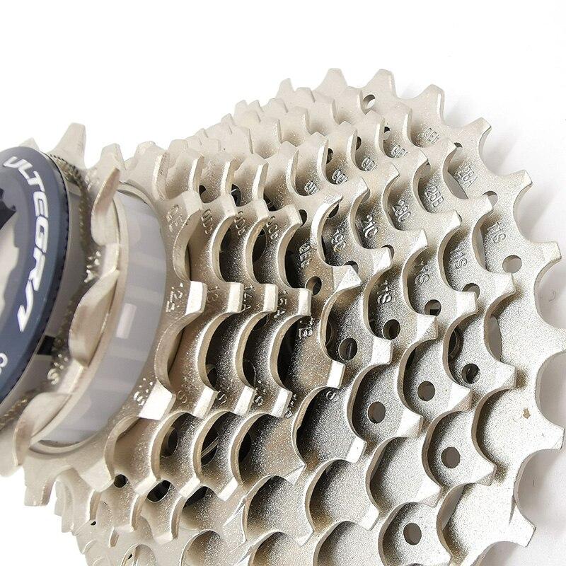 Shimano CS-R8000 Ultegra 11 velocidad Cassette bicicleta de carretera rueda libre R8000 piñón de Cassette 11-28T 11-32T