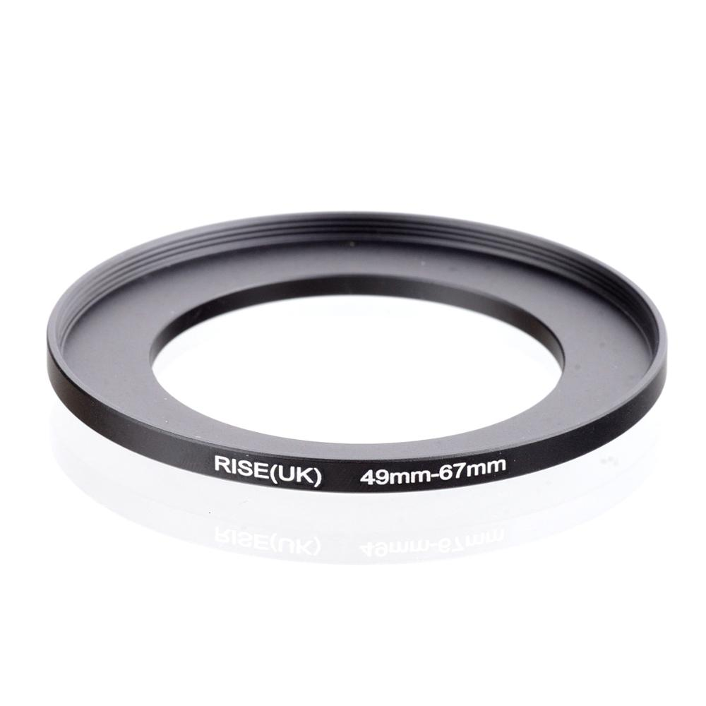 RISE(UK) 49mm-67mm 49-67 Mm 49 To 67 Step Up Filter Ring Adapter