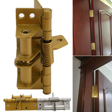 Hot Spring Hinge Durable Accessories Multifunction for Automatic Self Closing Doors Home XJS789