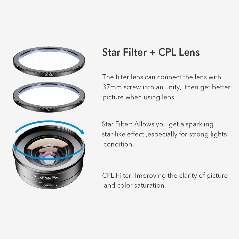 Image 5 - APEXEL 2in1 HD Camera Phone Lens Kit 120 degree 4K Wide angle lens + 10X Macro lens for iPhone 11 Samsung xiaomi all smartphoneMobile Phone Lens   -