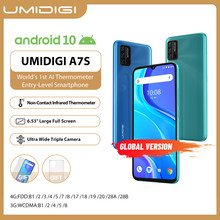 In-Lager UMIDIGI A7S Smart Telefon 6.53