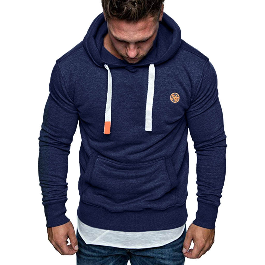 Men's Long Sleeve Autumn Winter Casual Sweatshirt Hoodies Top Blouse Tracksuits Hoodies толстовка свитшот Coat For Men 2020