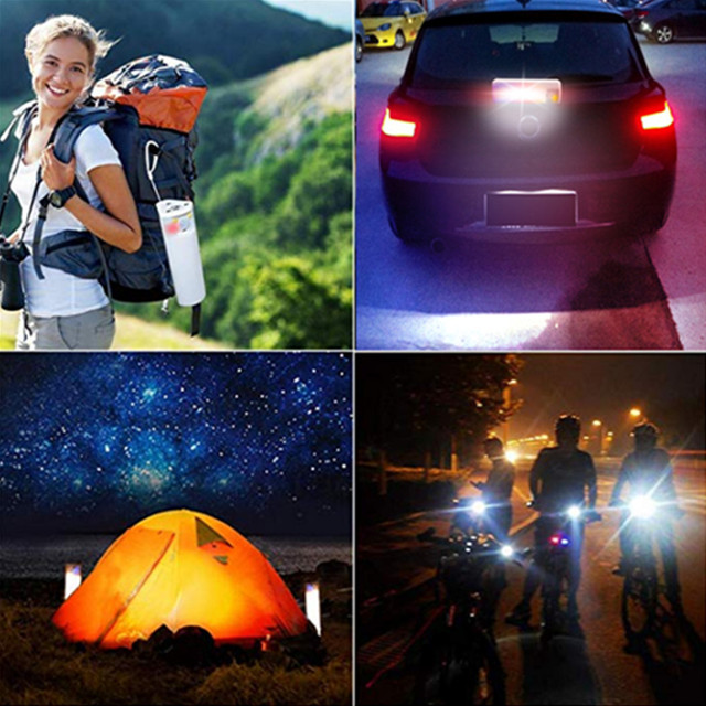 Portable LED Solar Light Outdoor/Indoor Soptlight Sensor Motion Light Waterproof 4 Modes House Camping Tent USB Emergency Light 6