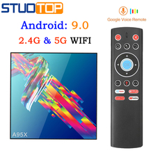 A95X R3 Smart iptv android tv box 4G 32G 64G 5G WI