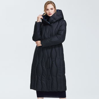 Astrid 2019 Winter new arrival down jacket women loose clothing outerwear quality blue color   thick cotton winter coat AR-7051