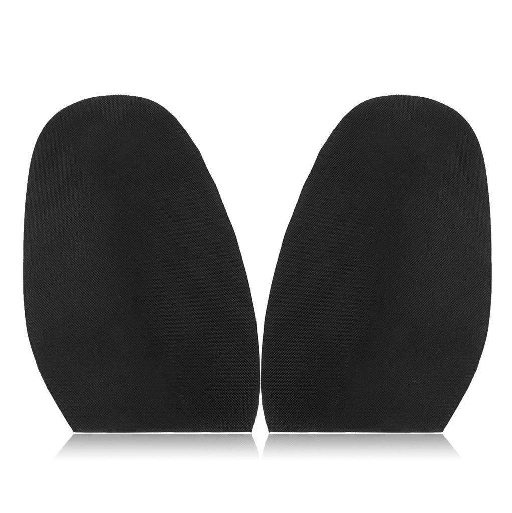 3 Pairs Women Men Rubber Glue On Half Soles Guard Taps Anti-Slip Shoe Repairs