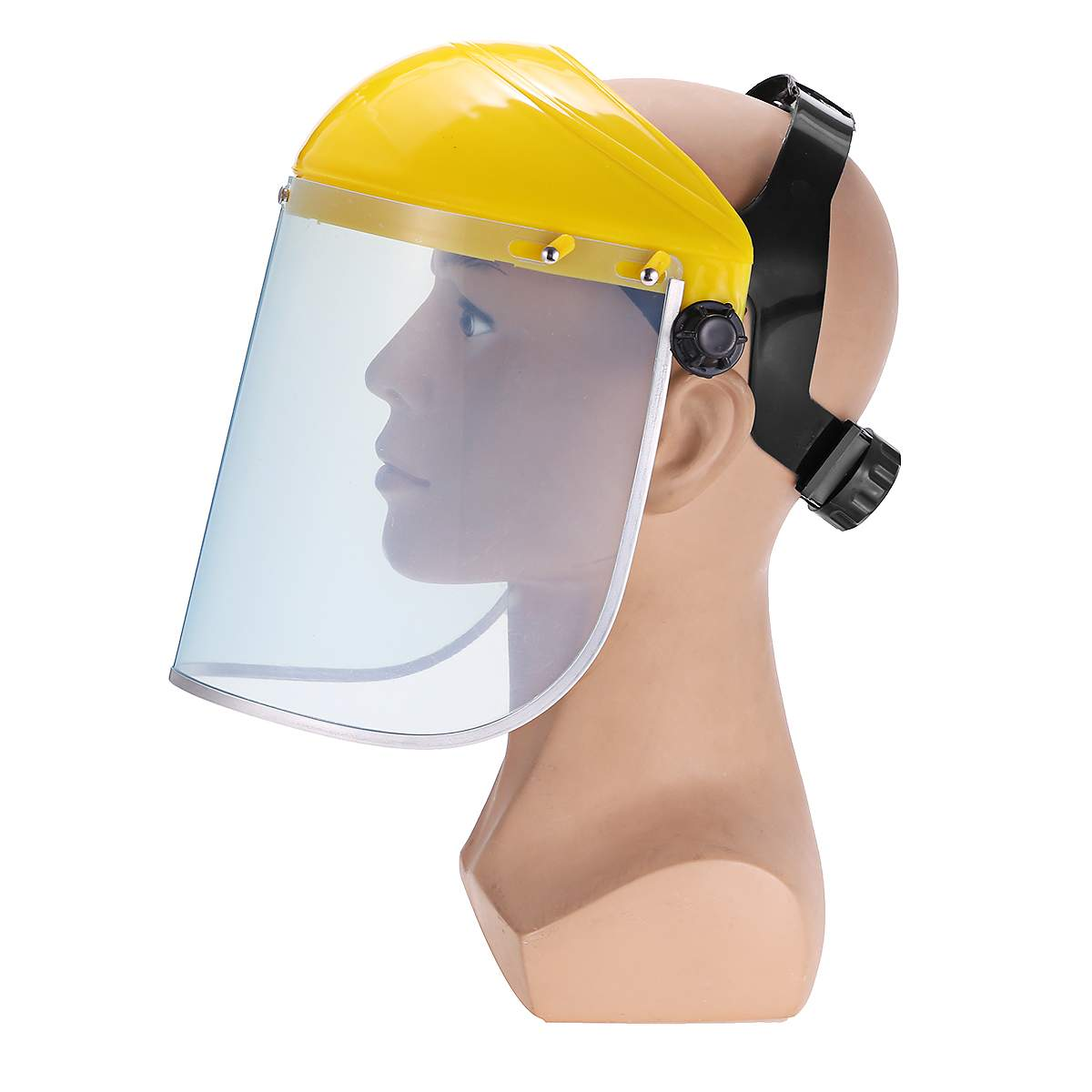 Protective Clear Face Cover and Transparent Face Helmet with Anti Splash Anti-UV and Shield Visor 10