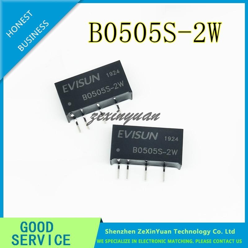 2pcs B0505S-2W DIP-4 DC-DC B0505S 2W SIP-4 B0505S-2WR2