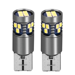 2PCS T10 W5W New Super Bright LED Car Dome Reading Lamps WY5W 2825 Auto Turn Side Bulb Canbus Error Free Wedge Clearance Lights
