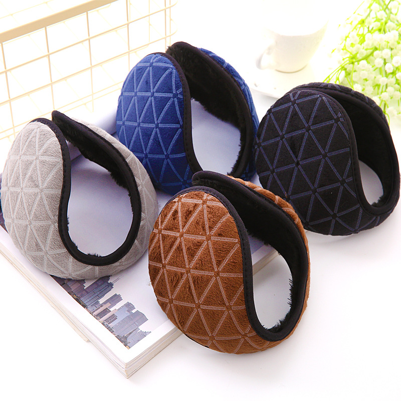 Ear Cover Women Winter Warm Plush Cotton Earmuffs Fashion Girls Plush Earlap Warmer Headband Accessories