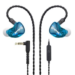 Image 5 - D8 ב אוזן Wired אוזניות עם מייק דיבורית רעש ביטול עמיד למים IPX4 TWS אוזניות נתקעים אוזניות עבור I12 tws earbud