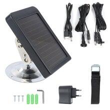 Солнечная панель Зарядное устройство блок питания США/ЕС вилка охотничья камера зарядное устройство для HC-300M HC300 HC-500m Trail камера s