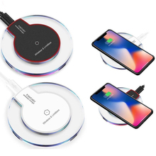 Wireless Charger Chargeur Sans Fil For Samsung S10 S9 S8 Plus Note 10 9 8 A50 Charging Pad Wirless Charger Cargador Inalambrico