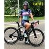 2020-kafitt-pro feminino corrida triathlon camisa de uma peça vestido pequeno macaco manga curta terno roupas de trabalho ciclismo gel 5