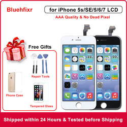 AAA Quality LCD Display for iPhone 5S SE 5C 5 6 7 LCD with Touch Screen Digitizer Replacement for iPhone 6 LCD Screen
