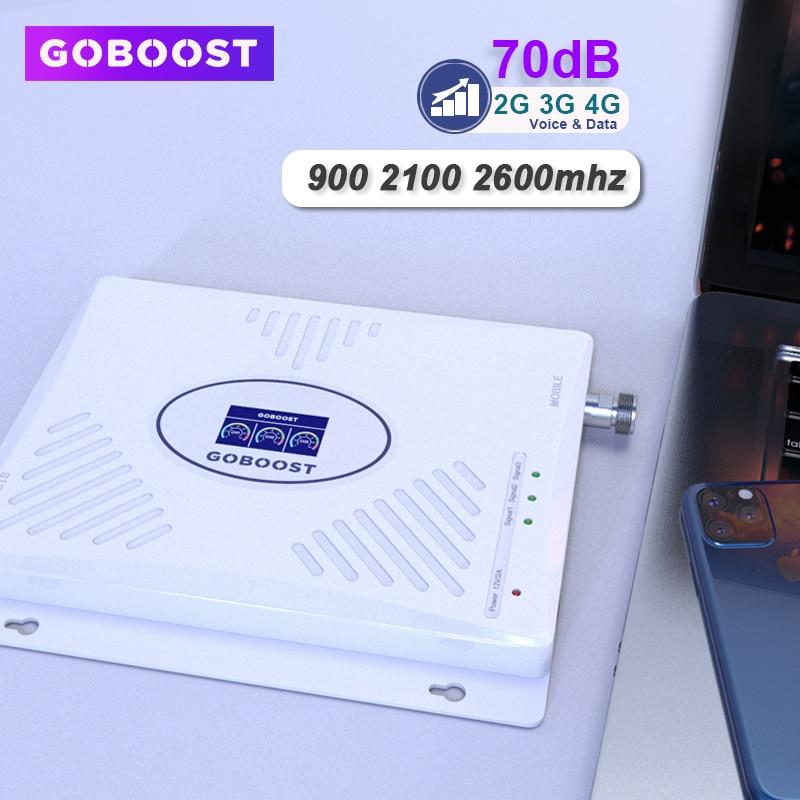 Сотовый усилитель 70 дБ трехполосный 2g 3g 4g усилитель сигнала gsm 900 2100 2600 ретранслятор мобильного телефона LTE 4g DCS UMTS 3g Усилитель 2g|Усилители сигнала|   | АлиЭкспресс