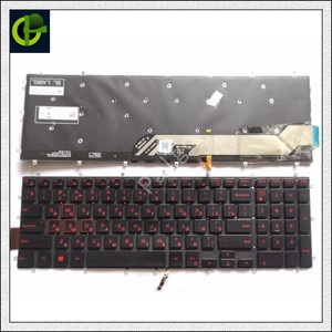 Image 4 - רוסית מקלדת עם תאורה אחורית עבור Dell Inspiron 15 משחקים 7566 7567 5570 5770 5775 5575 7570 7577 RU מחשב נייד מקלדת