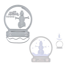 YaMinSanNiO Christmas Metal Cutting Dies Stencils for Scrapbooking Photo Album Decoration Embossing Paper Card Craft Template merry christmas trees sticker painting stencils for diy scrapbooking stamps home decor paper card template decoration album