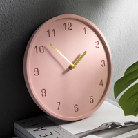 북유럽 벽 시계 간단한 벽 시계 기능 크리 에이 티브 시계 벽 홈 장식 거실 침실 침묵 Saat 장식 시계 FZ227