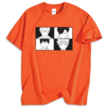 Printed T-Shirts Volleyball Haikyuu-Japan Anime Cotton Tee Casual Hip-Hop Men High-School