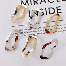 Real gold DIY handmade jewelry accessories earrings material Pendant Earring Accessories earings fashion jewelry handmade