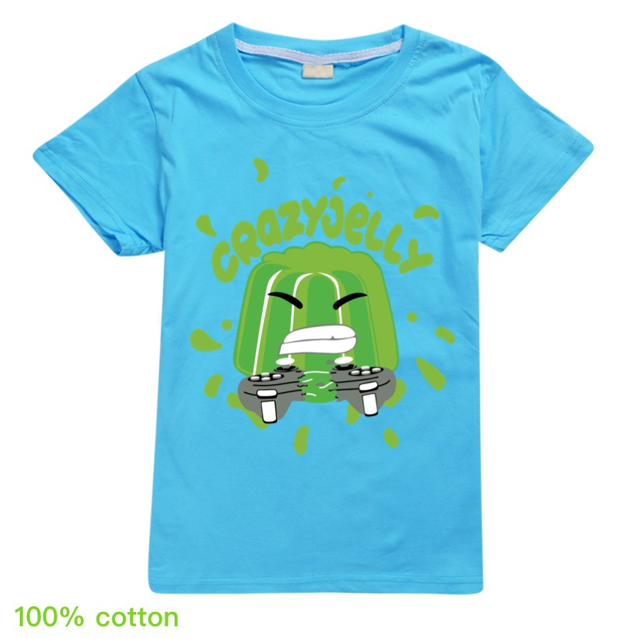 Jelly Youtube Boys Clothes Fashion 12 color T Shirt Kids Clothes Girls Fall Outfits Spring Child Student Unisex 3