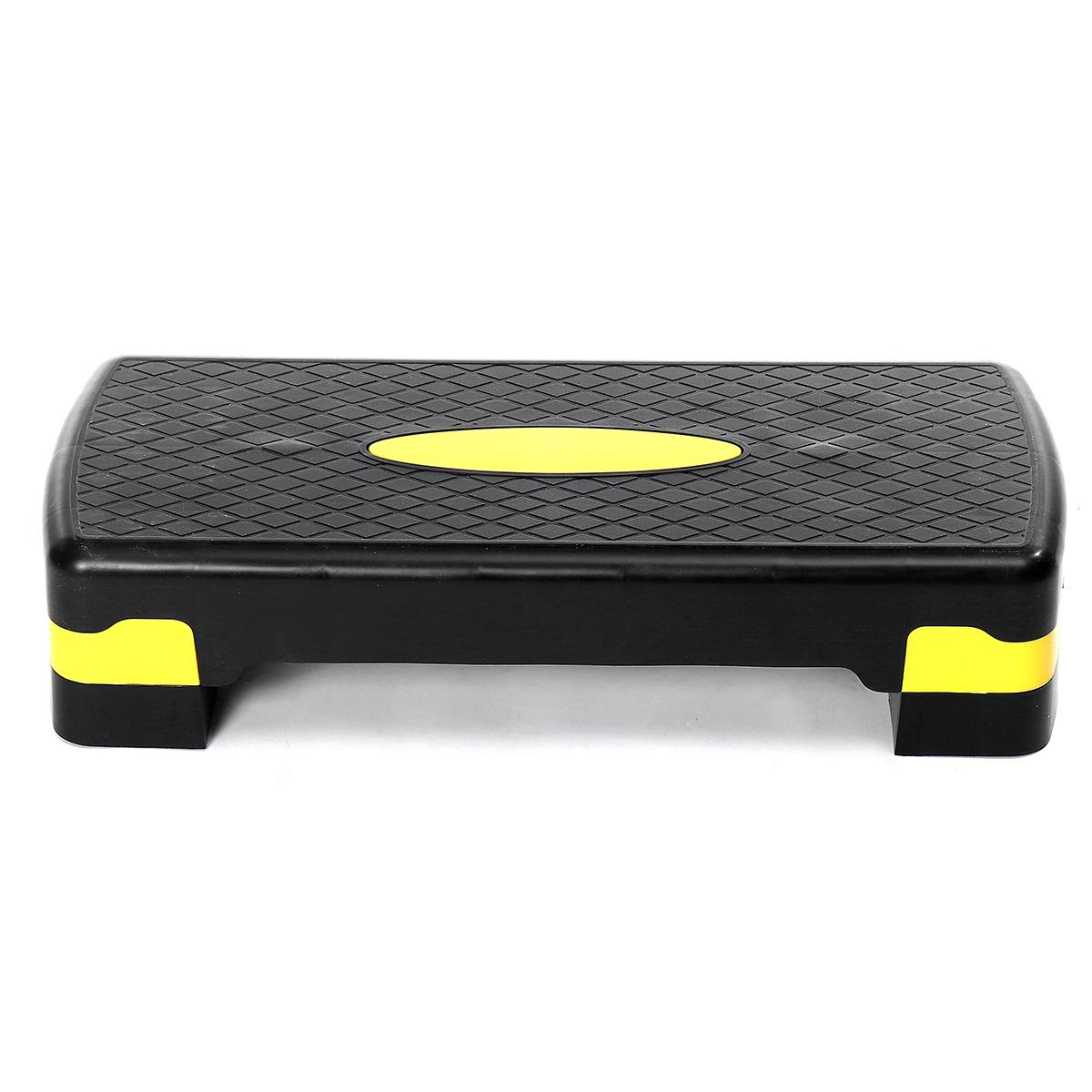 Adjustable Fitness Aerobic Step Non-slip Cardio Yoga Pedal Stepper Gym Workout Exercise Fitness Aerobic Step Equipment 100KG