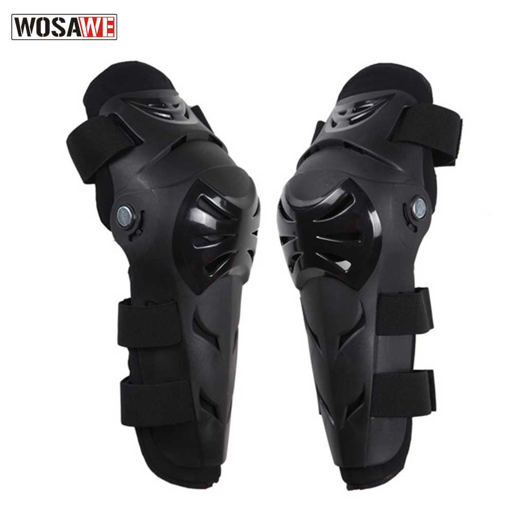 Wosawe Sport Ware Motorcycle Off-road Riding Race Car Sports Elbow Guard Kneecap Four-piece Set