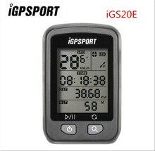 цена на IGPSPORT IGS20E Wireless Stopwatch Bicycle Wireless Computer Waterproof Cycling GPS Computer Odometer with S60 Mount