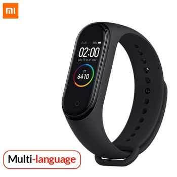 New original xiaomi Mi band 4 smart AI heart rate fitness tracker 50M waterproof touch color screen Bluetooth 5.0  Wristband - DISCOUNT ITEM  0% OFF All Category