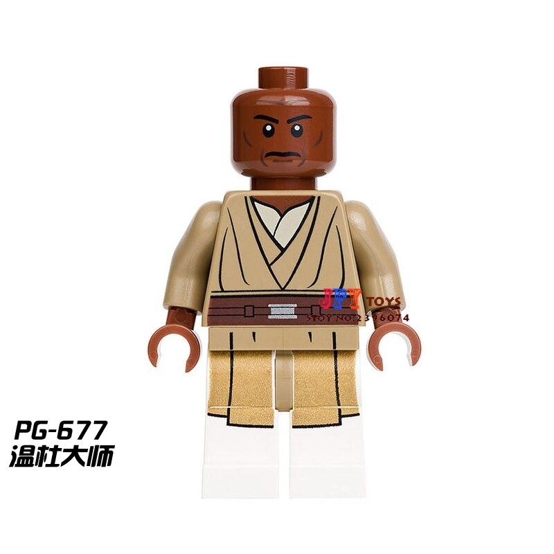 Single Sale Superhero Mace Windu Building Blocks Model Bricks Toys For Children Action Figures