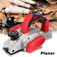 Powerful Electric Planer 82mm 1000W Wood Hand Planer Aluminum Alloy Carpenter Woodworking DIY Wood Surface File Tools US Plug