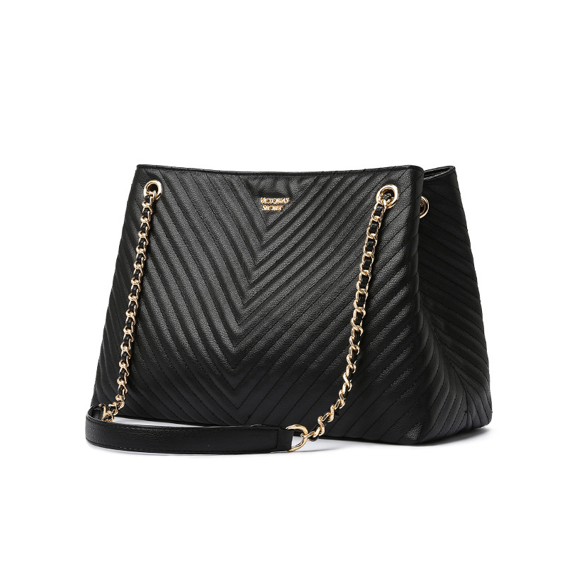 Luxury Brand Handbag 2020 Fashion New High Quality PU Leather Women's Handbag Large Tote Bag Lock Chain Shoulder Messenger Bags