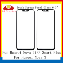 10Pcs/lot Touch Screen For Huawei Nova 3 3i Touch Panel Front Outer Glass Lens Touchscreen P Smart Plus LCD Glass Replacement цена и фото