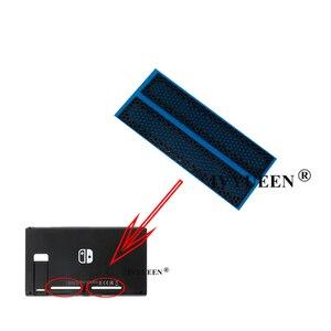 Image 4 - IVYUEEN 1 para dla konsola nintendo Switch odporny na kurz netto naklejki dla nintendo Switch tylna obudowa w lewo i w prawo sieci chłodzenia