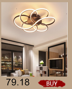 Hfbed4e4193ea4351ac4680727d78b632w Creative modern led ceiling lights living room bedroom study balcony indoor lighting black white aluminum ceiling lamp fixture