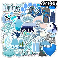 49Pcs Small Fresh Explosion Models Suitcase Stickers Waterproof Graffiti Suitcase For Laptops Travel Bags Cool Funny Stickers