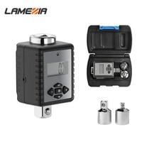 LAMEZIA 1/2 1/4 3/8 Digital Torque Wrench 0.3 340NM Universal Adjustable Spanner Set